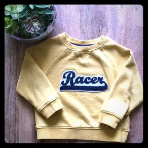 Janie and Jack -Yellow Racer Pull Over - Fall 2018